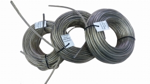 Linka celna fi 6 mm - 34 mb nie zakuta (TIR cable)
