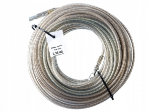 Linka celna fi 6 mm  34 mb zakuta (TIR Cable)