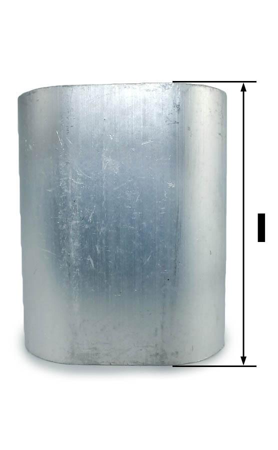 tuleja aluminiowa do liny